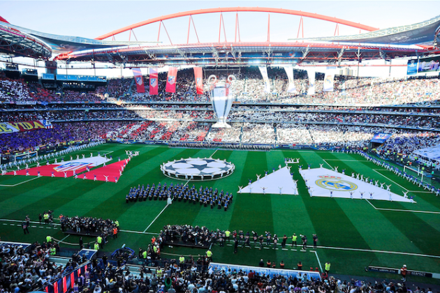 Greenpeace Protesters Arrested at Champions League Final