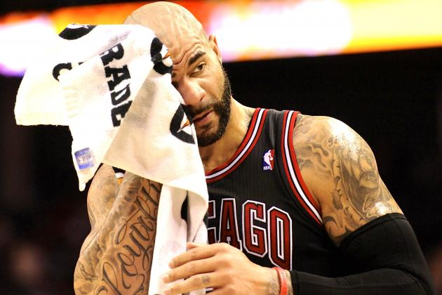Chicago Bulls Reportedly Prepping to Amnesty Carlos Boozer