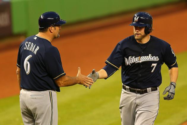 Video: Base-Running Gaffe Cost Brewers Run Late