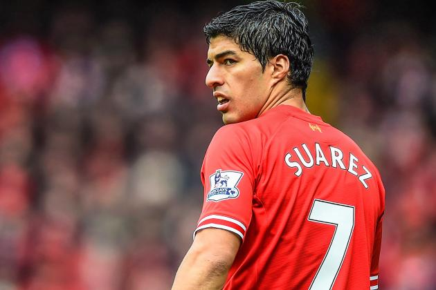 Luis Suarez Injury Reinforces Liverpool's Need to Sign Quality Forward in Summer