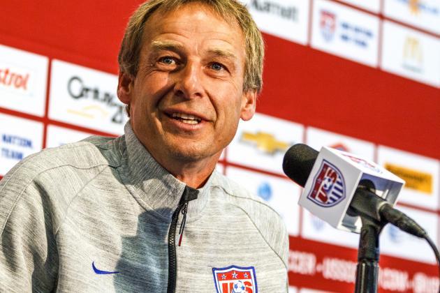 USMNT Manager Jurgen Klinsmann Still Has a Lot to Prove
