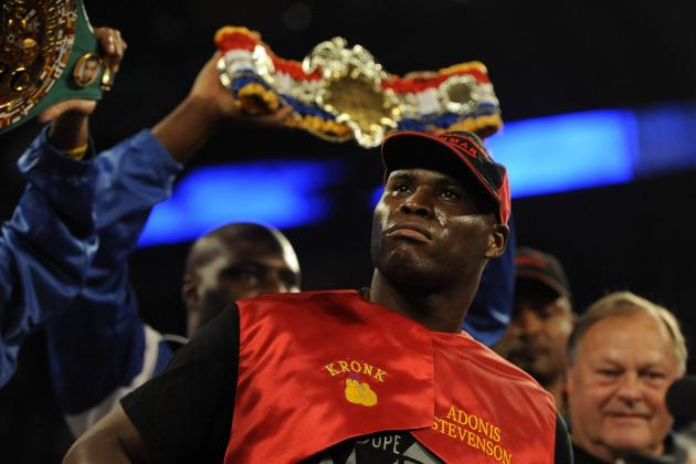 Will an Adonis Stevenson Win Set Up a Showdown with Bernard Hopkins?