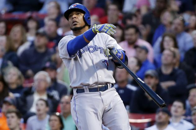 Blue Jays' Edwin Encarnacion Has 4 Multi-Homer Games in May