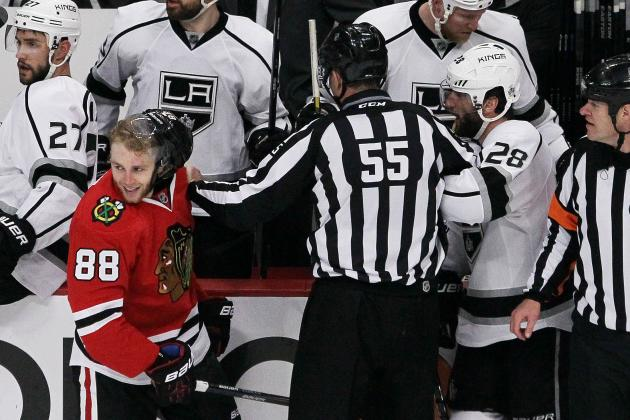 Chicago Blackhawks' 2nd-Line Woes Get Worse in Game 3 Loss to Kings