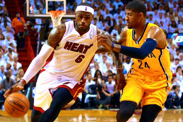 Pacers vs. Heat: Game 3 Score and Twitter Reaction from 2014 NBA Playoffs