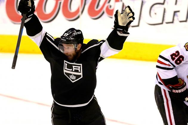 Jeff Carter Gives Kings the Edge over Blackhawks Once Again in Game 3 Win