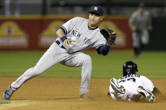 Yankees' Derek Jeter Passes Luis Aparicio for 2nd Most Games Played at Shortstop