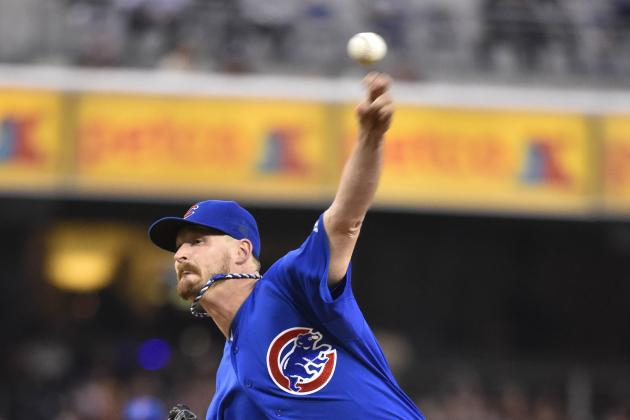 Wood, Valbuena Lead Cubs to 3-2 Victory vs Padres