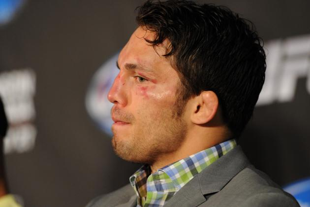 UFC 173 Results: What Happened to Jake Ellenberger?