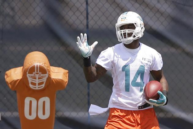 WR Jarvis Landry Impresses at Miami Dolphins Rookie Minicamp