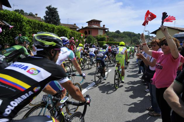 Giro D'Italia 2014 Standings: Stage 15 Results, Leaderboard and Analysis
