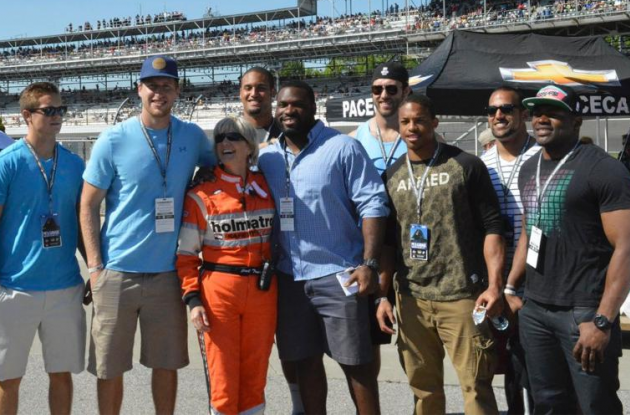 Colts Rookies Visit Indianapolis Motor Speedway