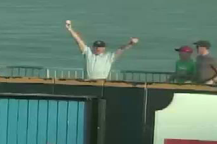 Prospect's Dad Catches Son's 1st Homer