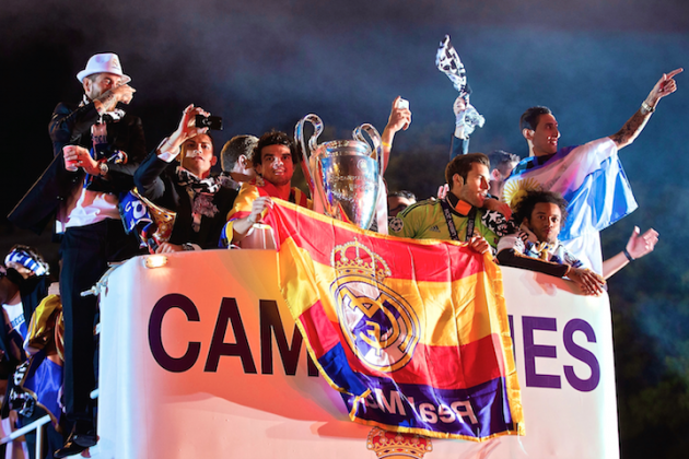 Real Madrid Parade 2014: Twitter Reaction, Photos, Videos and More