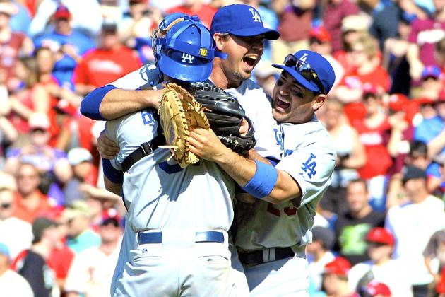 Josh Beckett Throws No-Hitter vs. Philadelphia Phillies