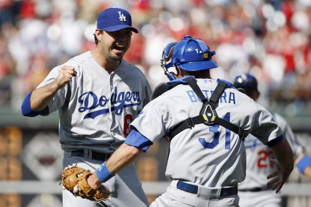 Dodgers' Josh Beckett Throws 21st No-Hitter in Franchise History