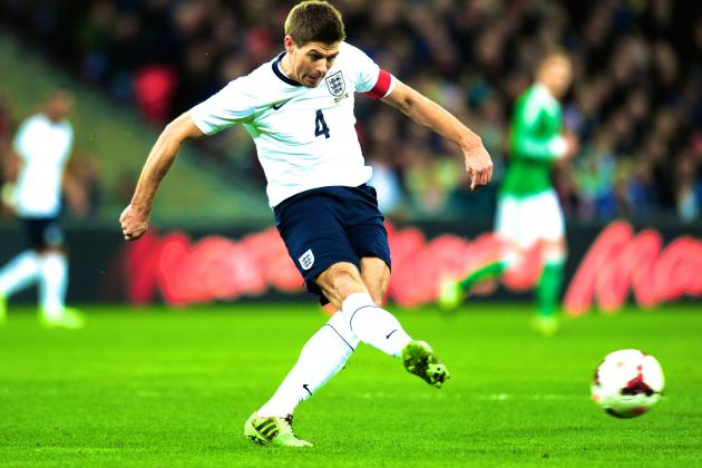 Complete Analysis of Steven Gerrard's Liverpool Role vs. England Role