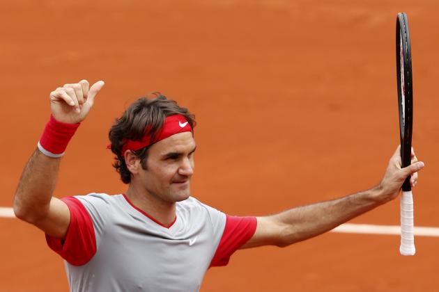 Roger Federer's 1st-Round Form Bodes Well for French Open Fortunes