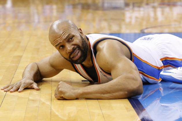 Derek Fisher Injury: Updates on Thunder Guard's Head and Recovery
