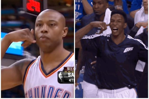 Caron Butler Nails 3 and 'Makes a Call,' Possibly to Hasheem Thabeet