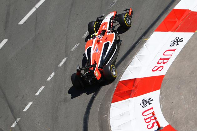 Marussia Finally Scores 1st Formula 1 Points at the Monaco Grand Prix