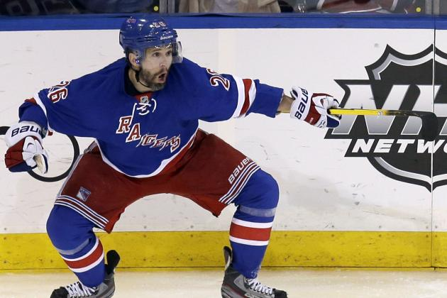 NHL Playoff Schedule 2014: Complete TV Info for Rest of Conference Finals