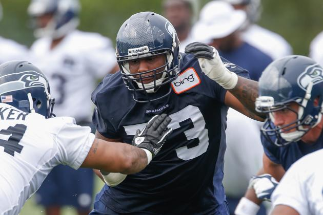 Who Will Win Seattle Seahawks' Battle for Right Tackle?