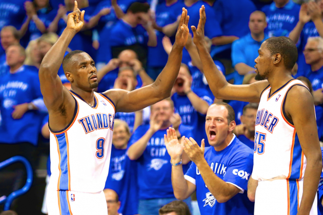 Serge Ibaka Personifies Humble Heroism as OKC Thunder Beat Spurs in Game 3