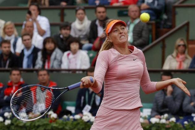 Maria Sharapova vs. Ksenia Pervak: Score and Recap from 2014 French Open