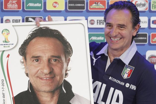 Italy Coach Cesare Prandelli Announces Contract Extension Through 2016