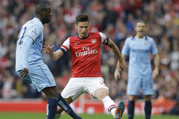 Manchester City 0, Arsenal 5: PremierLeague.com's Team of the Season Was Bizarre