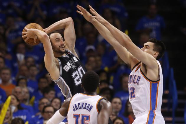 Manu Ginobili Admits OKC Thunder Gave San Antonio Spurs Reality Check