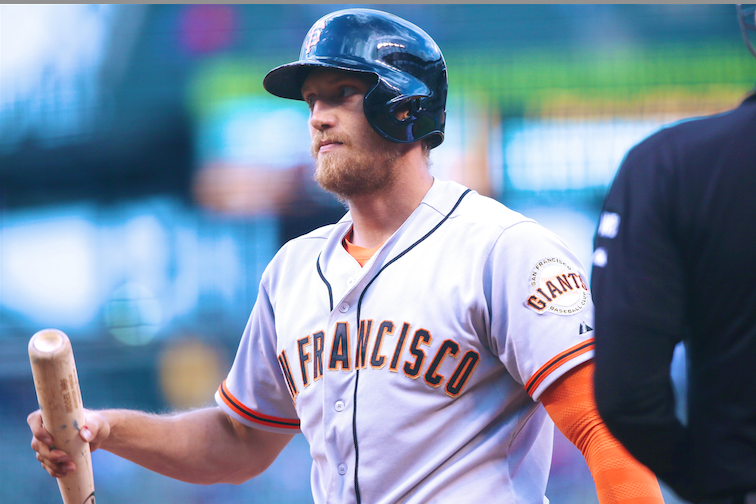Giants' Hunter Pence Tweets That Someone Stole His Customized Scooter