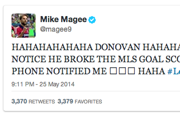 Reigning MLS MVP Uses Landon Donovan's Record to Mock Jurgen Klinsmann's Son