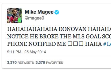 Reigning MLS MVP Uses Landon Donovan's Record to Mock Jurgen Klinsmann's Son