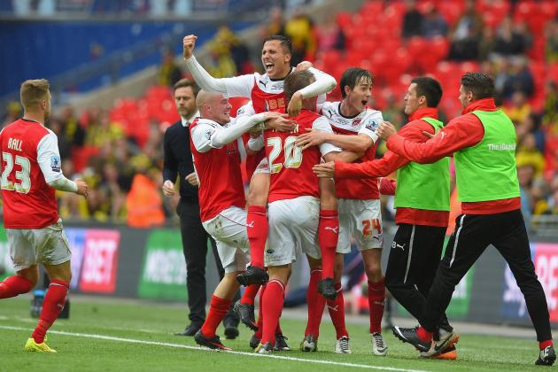 Burton Albion vs. Fleetwood Town: Score and Recap from League Two Final 2014