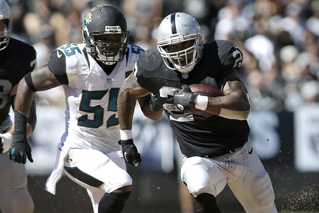 Who Will Win the Oakland Raiders' Running Back Battle?