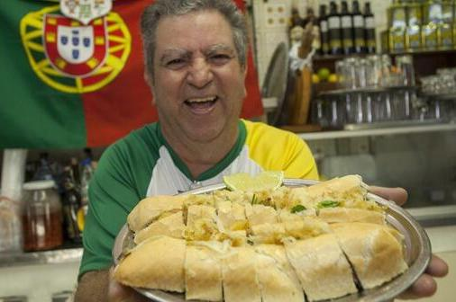 Portuguese Chef Creates the 'Cristiano Ronaldo Sandwich'