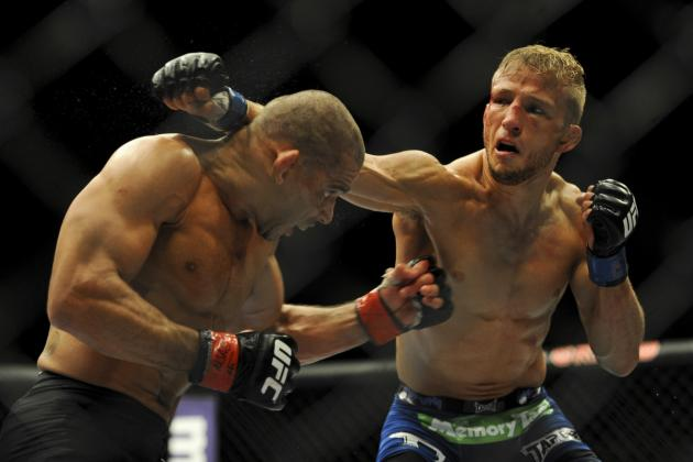 TJ Dillashaw's Win over Renan Barao Leaves Jose Aldo as the Only Brazilian Champ