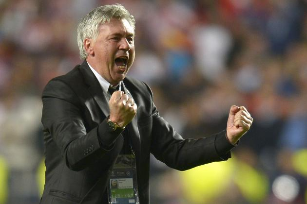 Real Madrid's Carlo Ancelotti Becomes 2nd Coach to Win 3 European Cups