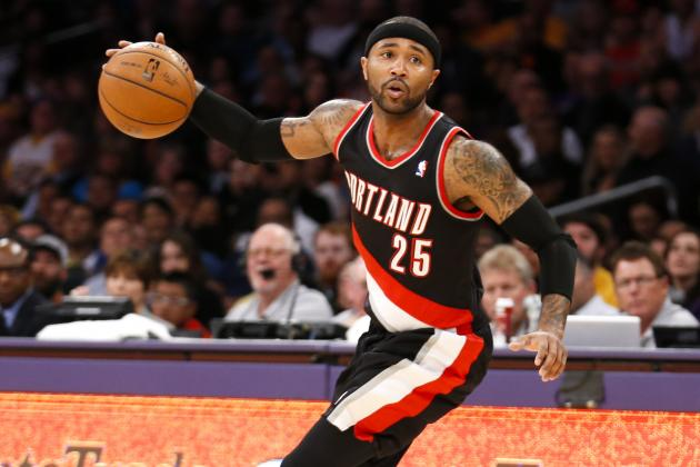 Mo Williams Manufactured Beef with Troy Daniels in Rockets-Blazers Series