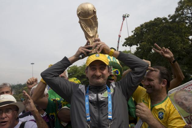 Brazil World Cup 2014 Roster: Squad Info and Group-Stage Predictions