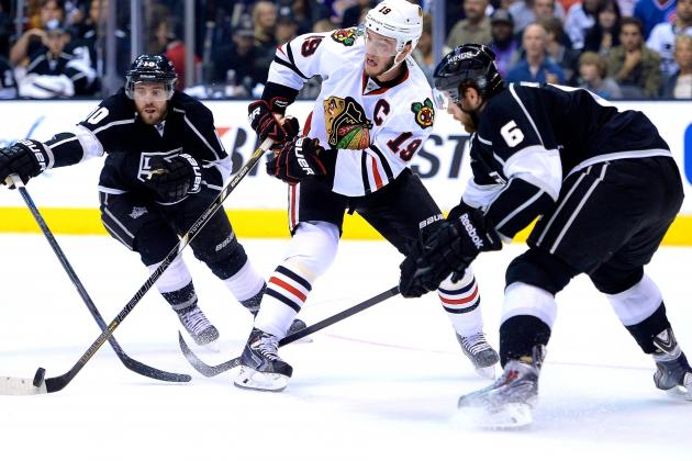 Chicago Blackhawks vs. Los Angeles Kings Game 4: Live Score and Highlights