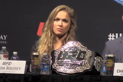 Video: Rousey Says Floyd Would 'Box the Hell out of Me'