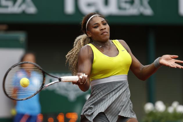 Serena Williams in Line for Dominant French Open After 1st-Round Rout