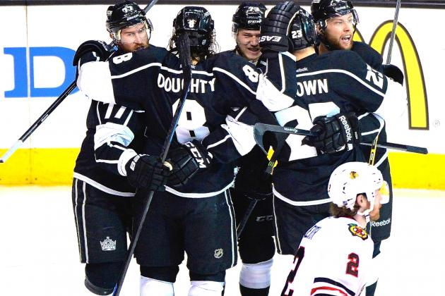 Blackhawks vs. Kings: Game 4 Score and Twitter Reaction from 2014 NHL Playoffs