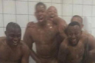 Orlando Pirates Apologise for Naked Picture with South African Cup Trophy