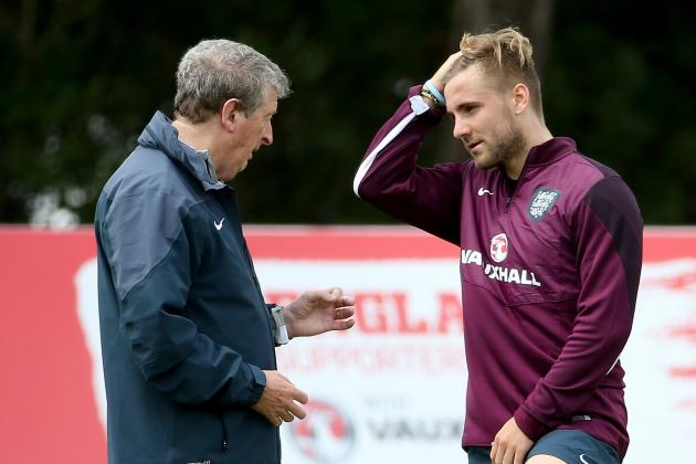 England International Luke Shaw's Earliest World Cup Memory Is South Africa 2010