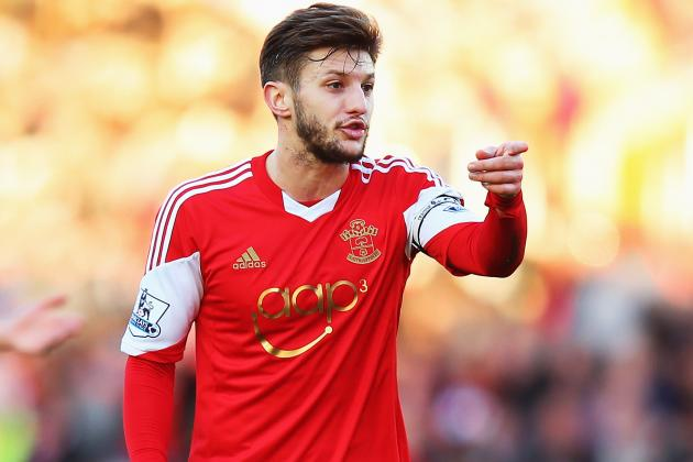 Liverpool Transfer News: Adam Lallana Desperate to Play in Champions League