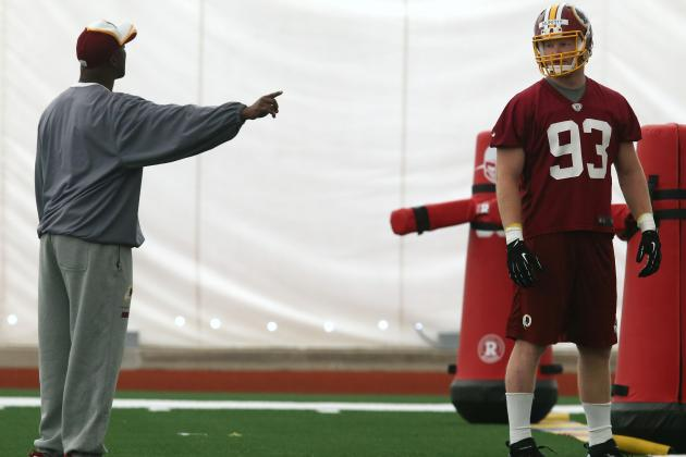 The Best Rookie Storylines at Washington Redskins' OTAs